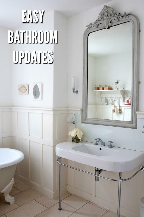 Bathroom Updates that are Quick and Easy  Juggling Act Mama