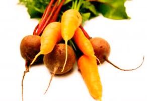 jugo de zanahoria con betabel y limón