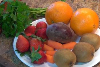 Jugo Variado de Frutas para Desintoxicar el Hígado