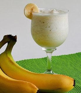 Licuado De Plátano Con Avena