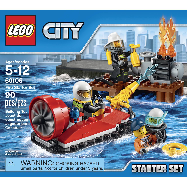 Lego City 60106 Set de introducción bomberos