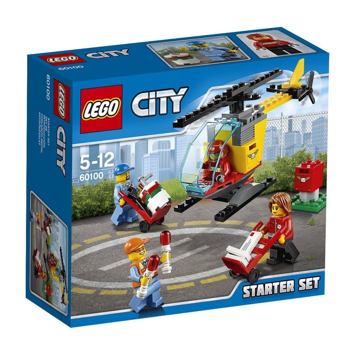 lego city 60100 set de introducción aeropuerto