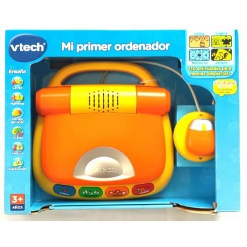 pc infantil mi primer ordenador naranja