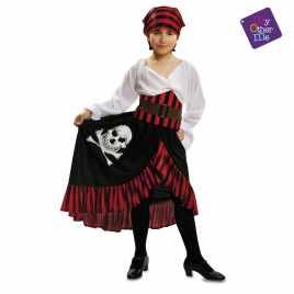 disfraz pirata niña con bandana