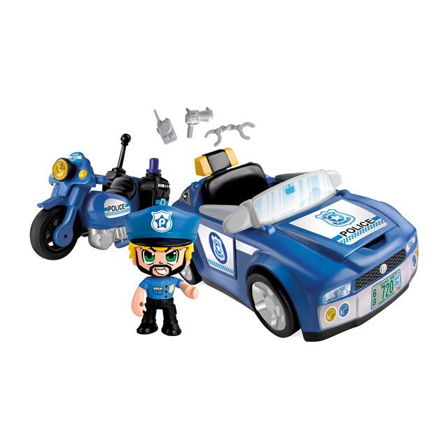 pinypon action coche policia