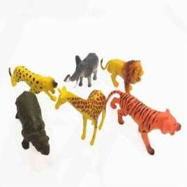 Bolsa 6 Animales Selva