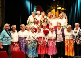 Golden Hula Girls on tour