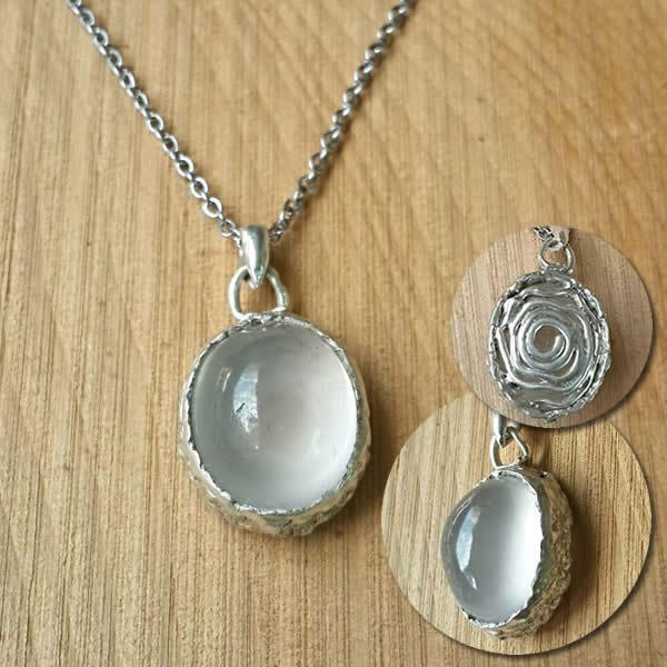 白水鑑心│銀飾項鍊