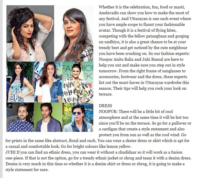 Step up in style by juhi bansal