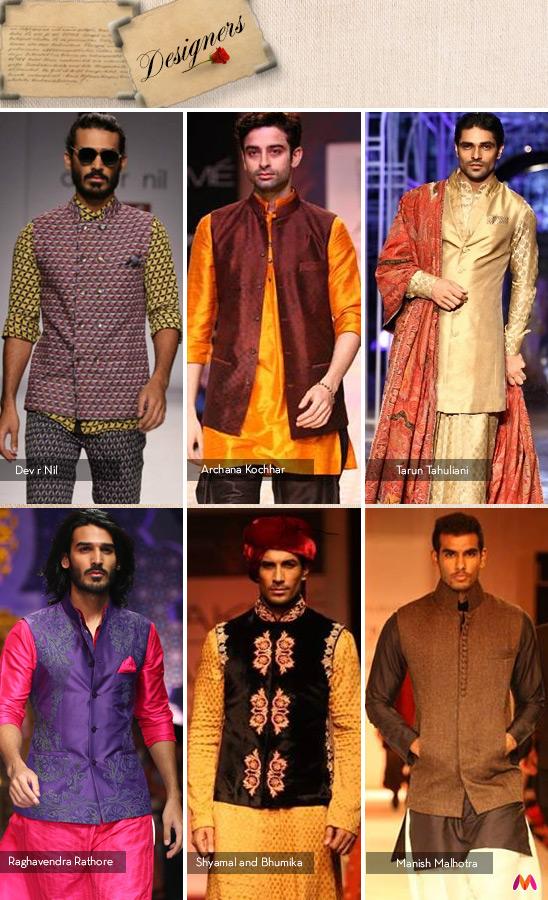 Indian designers and their interpretation of the Nehru Jacket
