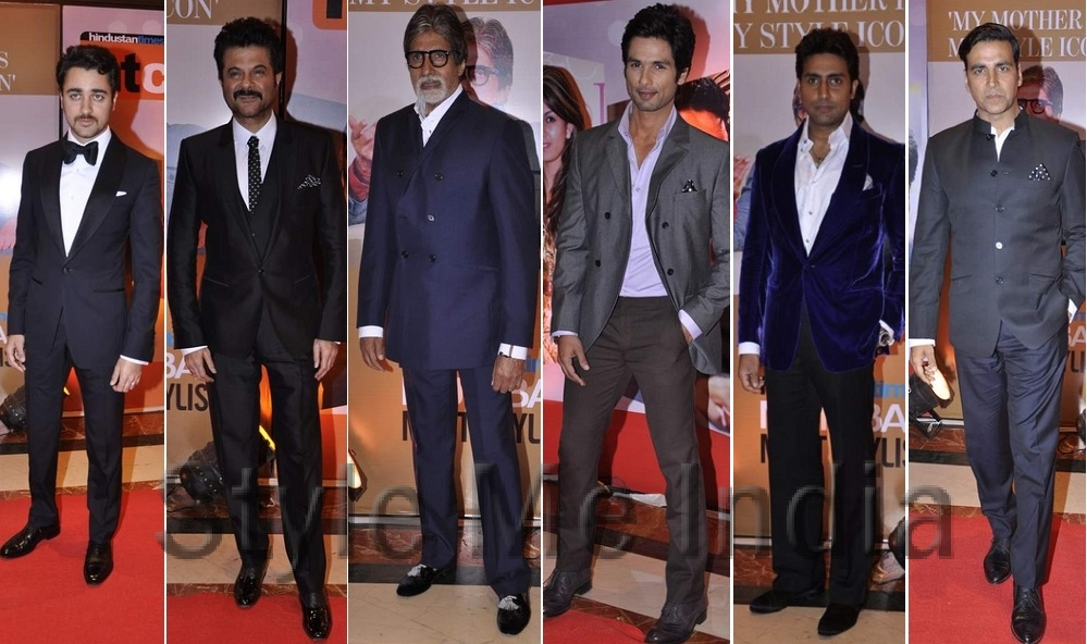 Our very own Stylish Men from Bollywood