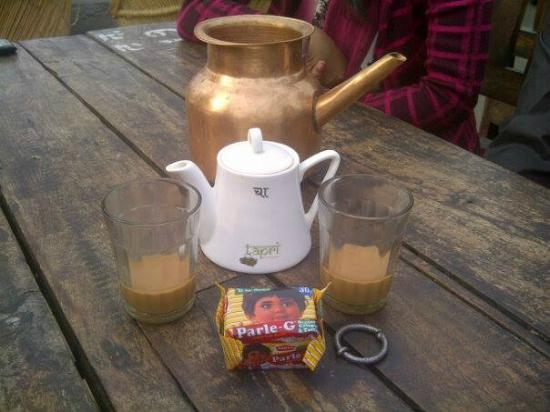 This is how tea is served @Tapri