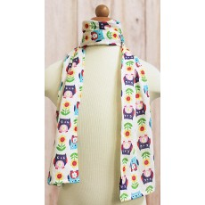 Scarf with a Quirky Print