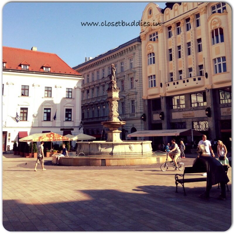 The Old Town Sqaure