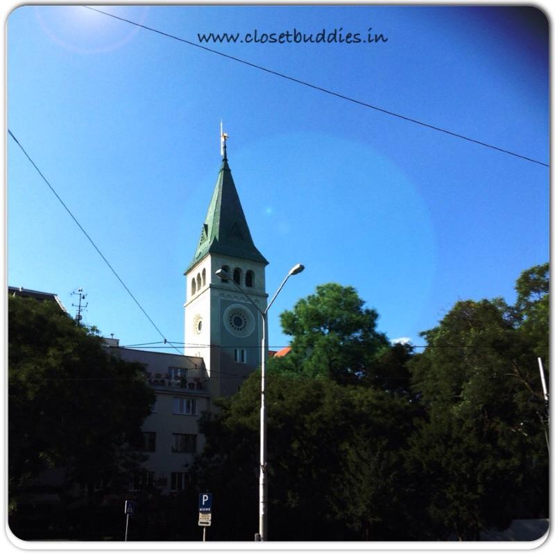 Glimpse of the Bratislava Castle
