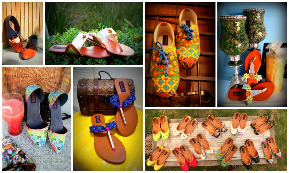 The colourful collection by Shoe Crea