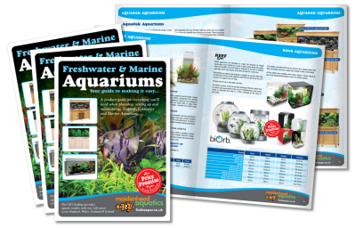 Aquatics Water Gardening Brochure Design