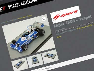 Juice Factory Full Service Design Agency - Online Catalogue Design - Spark Ligier JS5