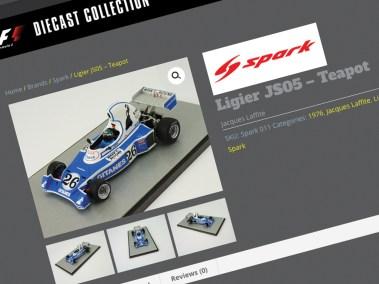 Juice Factory Full Service Design Agency - Online Catalogue Design - Spark Ligier JS5
