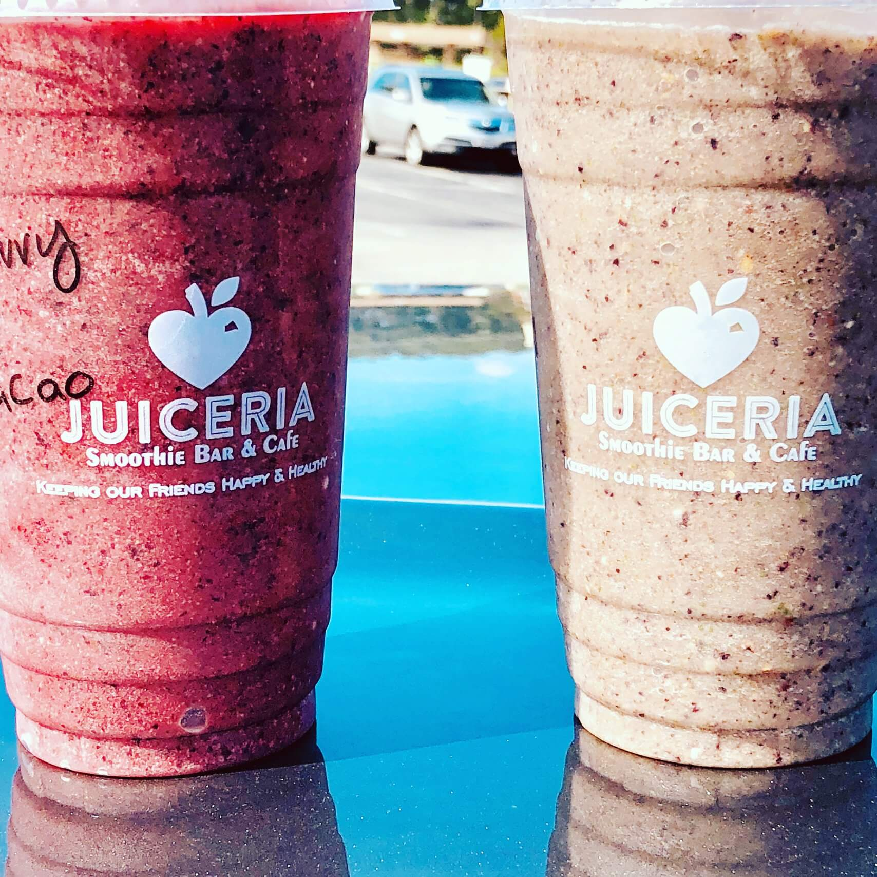 Juiceria smoothies! Order online today!