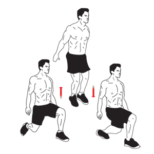Alternating Split Jumps