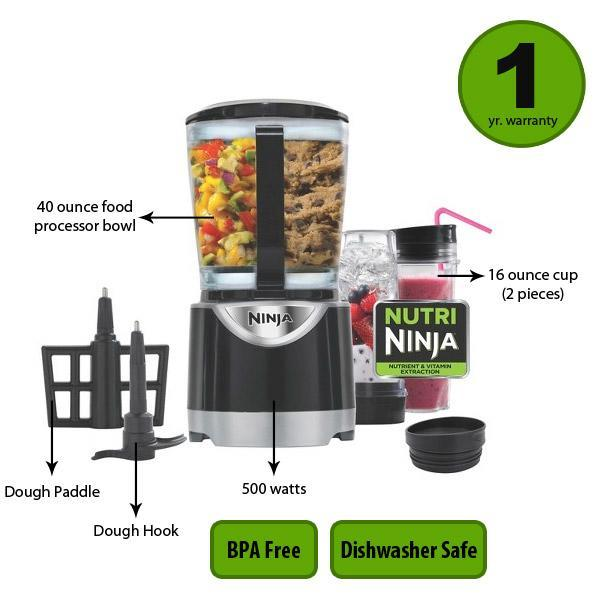 ninja kitchen system pulse stainless steel faucet review features