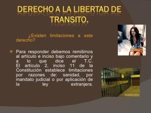 Libertad de Transito