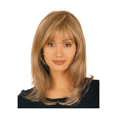 Cheap Human Hair Wigs With Bangs For Women