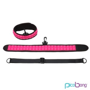PicoBong PicoBong - Speak No Evil Choker Cerise