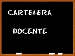 cartelera docentes
