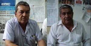 Silverio Gomez y Fredy Tapia