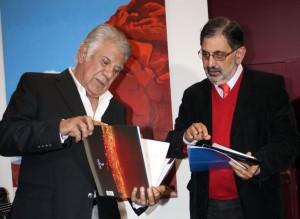 Visita de Raúl Lavié1