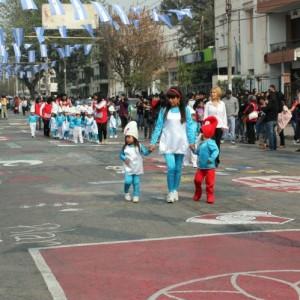 Desfile de jardines de infantes
