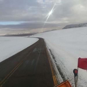 paso de jama nieve