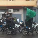 policias disparando
