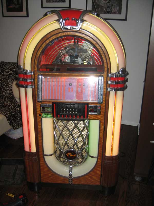 Musikbox RoweAMI Laserstar Jukebox