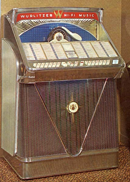 Wurlitzer Jukebox 2400 Musikbox