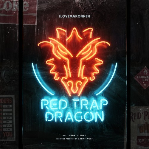 Mixtape: ILOVEMAKONNEN – Red Trap Dragon (w/ Danny Wolf)