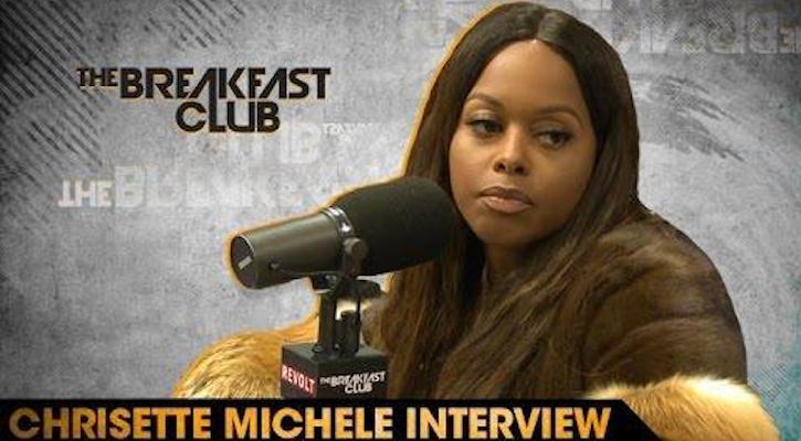 Chrisette Michele Talks Performing For Trump, Spike Lee & More (Video)