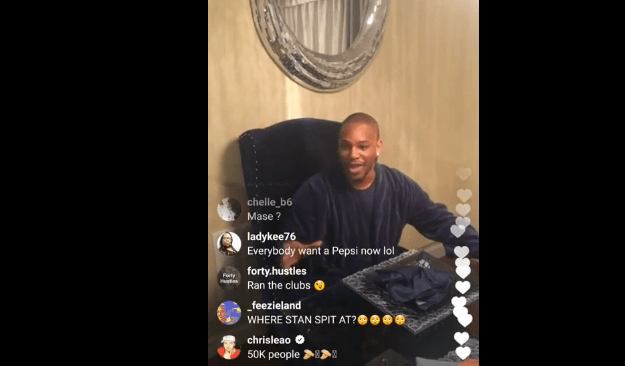 Cam'ron Responds To Jim Jones On IG Live (Video)