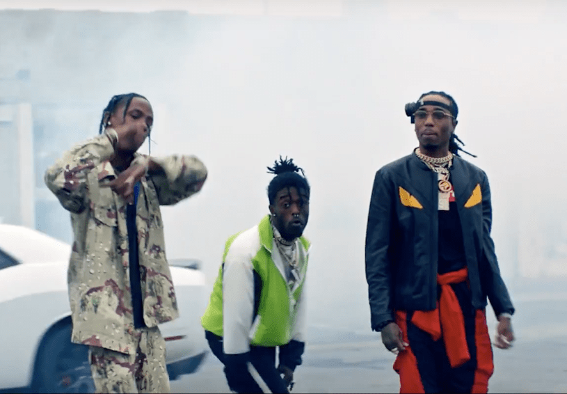 Lil Uzi Vert, Quavo & Travis Scott – Go Off (Video)