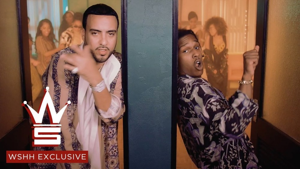 French Montana & A$AP Rocky – Said N Done (Video)