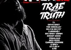 Trae Tha Truth Feat. T.I., Dave East, Tee Grizzley, Royce Da 5'9, Rick Ross, Curren$y, Styles P, D.R.AM, Snoop Dogg, Fabolous, Chamillionaire, G-Eazy, E-40, Mark Morrison & Gary Clark Jr. – I'm On 3.0