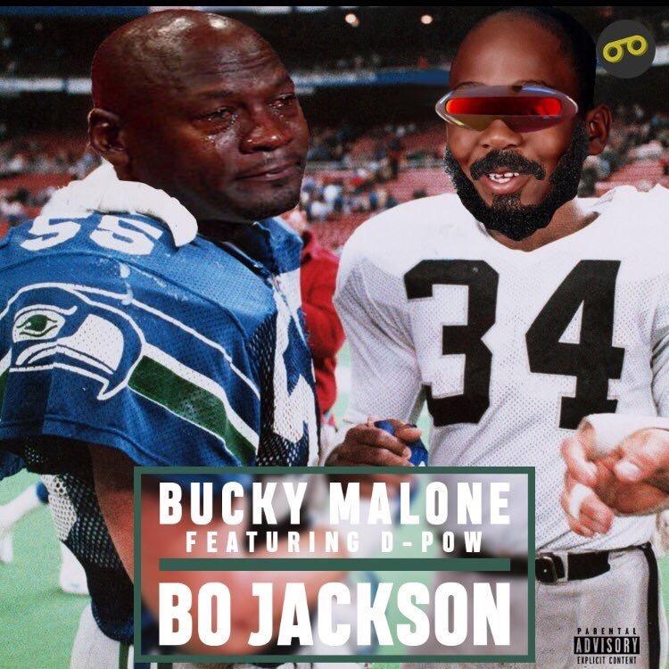 Bucky Malone – Bo Jackson Ft. D-Pow