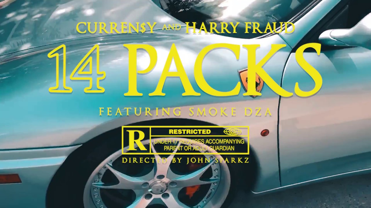 "Curren$y & Harry Fraud Feat. Smoke DZA – ""14 Packs"" (Video)"