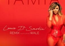 "Tamia Feat. Wale – ""Leave It Smokin' (Remix)"""