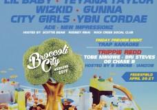 LINE-UP: Broccoli City Festival 2019