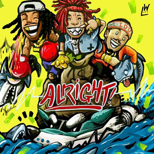 "Wiz Khalifa Feat. Trippie Redd & Preme – ""Alright"""