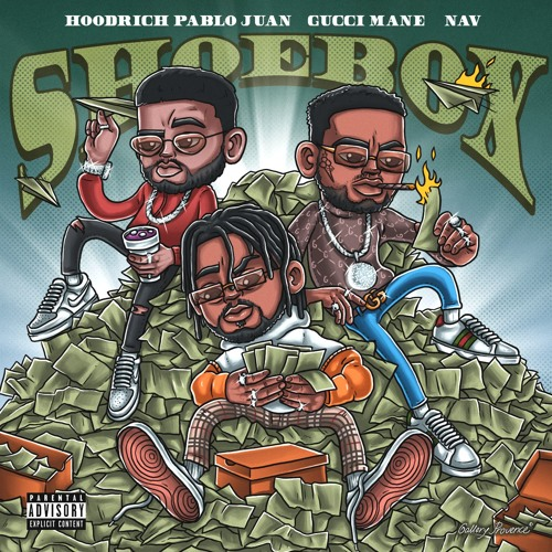 "Hoodrich Pablo Juan – ""Screaming Slatt"" (Feat. Young Thug) & ""Shoebox"" (Feat. Gucci Mane & NAV)"