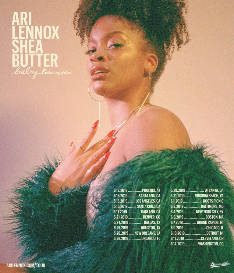 Ari Lennox Announces 'Shea Butter Baby' Tour